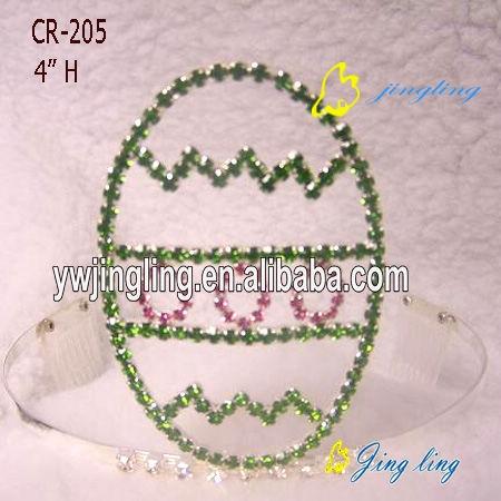 Easter Tiara Crowns Egg Shape Crown