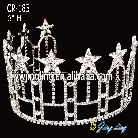 Patriotic Crown Shinning Star