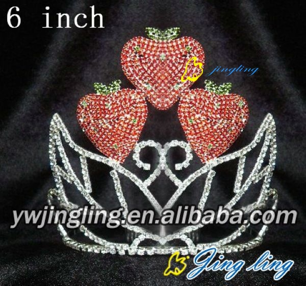 delicious strawberry birthday crown