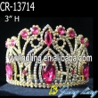 Pink Rhinestone wholesale Crowns And Tiaras