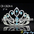 Auqa  stone cheap beauty pageant tiaras