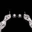 Fashion 2015 Earring Foreign trade jewelry European and American diamond earrings