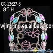 Color rhnestone pageant teddy bear animal crown