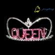 latest queen rhinestone tiara