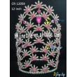flower rhinestone crown for sale