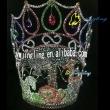 animal crown rhinestone full round pageant crowns