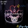 heart rhinestone pageant rhinestone teddy bear crowns