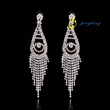 2015 Spring Luxury Bohemian Flower Exaggerated Women Party Fashion Earrings