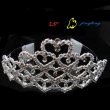 bridal heart tiara crowns
