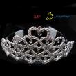 bridal heart tiara crowns