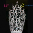 large special design rhinestone pageant crown