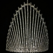 7 Inch Glisten Needle Shape Pageant Crowns