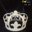 New design fashion full round pageant crowns for king