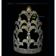 10 Inch Full AB Stone Pagaent Crown For Queen Miss World Tiara