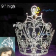 large rhinestone crown for sale