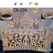 gold pageant crown Full Round Crown