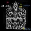 Patriotic Crown Shining Star Shaped
