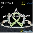 Ribbon Crown Green Color
