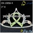 Ribbon Crown Green Color