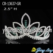 Wholesale green  rhinestone cheap wedding pageant crowns