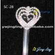 Heart shape scepters