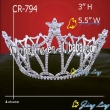 Full Round Pageant Crowns Patriotic Crown