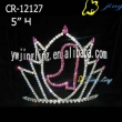 Wholesale Rhinestone Boot Pageant Crown