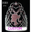Hot Pink Barbie Custom Pageant Crown