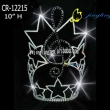 music note rhinestone tiara special pageant crown
