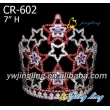 Patriotic Crown Colorful Star