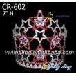 Patriotic Crown Colorful Star