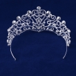2017 New Style Heart-shaped Rhinestone Crown