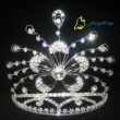 Rhinestone Crowns Flower Shape