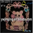 Wholesale Lovely Rhinestne Candy Bear Pageant Crown