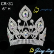 Hot Rhinestone Pageant Crown