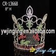 Rhinestone custom Louisiana big pageant crown