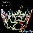 Patriotic Crown Full Round Crown