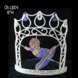 Rhinestone Custom Skate Boy Pageant Crown
