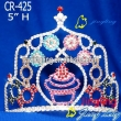 Cupcake Pageant Crowns