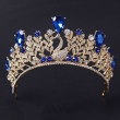 Wholesale Crystal Peacock Rhinestone Wedding Tiara