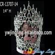 Colored rhinestone mermaid pageant crown
