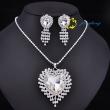 Fashion crystal necklace set