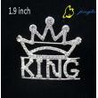 Brooch King Letter Shape