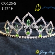 Rolive green hinestone Pageant Crowns