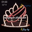 rhinestone girls shoe shape Pageant Crown
