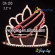 rhinestone girls shoe shape Pageant Crown