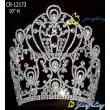 large hot sale tiara pageant crown