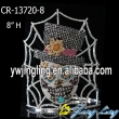 Custom Net Rhinestone Halloween Ghost Pageant Crowns For Sale
