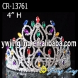 Mix Color Rhinestone Big Tiara Crown