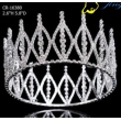 Full Round Clear Rhinestone Beauty Pageant Crown